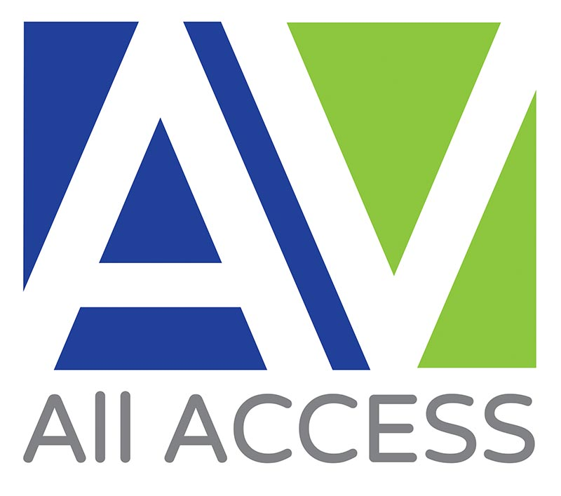 Bacon and banana Design AllAccessAV-Logo